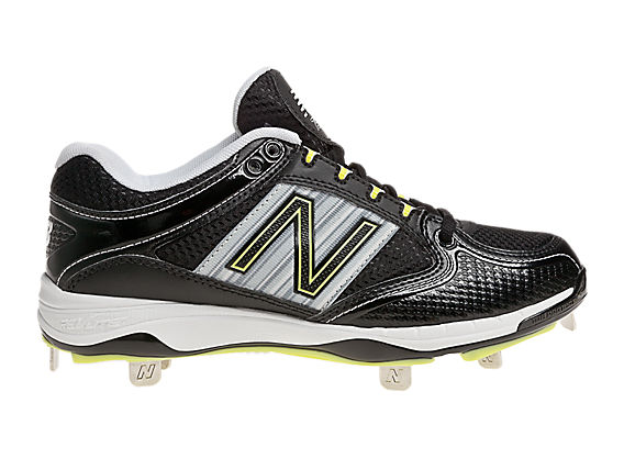 New Balance 7535, Black with Silver