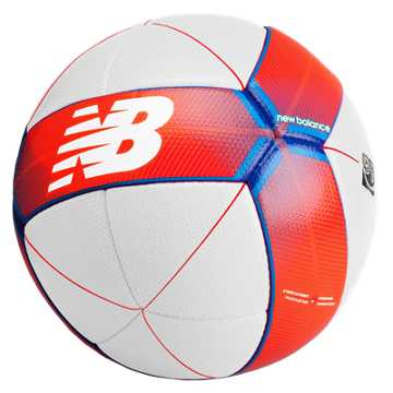 New Balance Furon Damage Ball, White with Flame & Ocean Blue