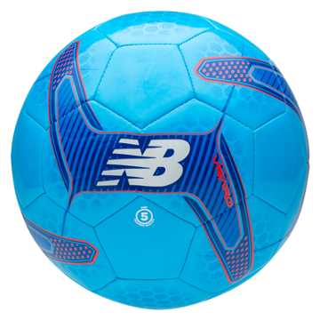 New Balance Visaro Control Ball, Bolt with Flame & Ocean Blue