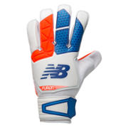 Furon Dispatch Glove, White with Flame & Ocean Blue