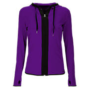 Ultimate Fitness Jacket, Acai with Black