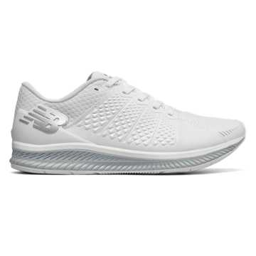 New Balance FuelCell, White with Light Grey