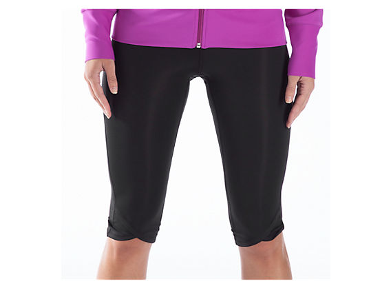 Ultimate Knee Capri, Black
