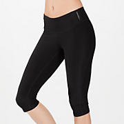 Psyche Ultimate Knee Capri, Black