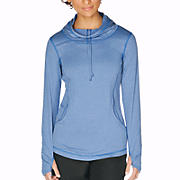 Long Sleeve Hooded Tee, True Blue