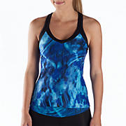 Get Back Racerback, Dazzling Blue with Blue Atoll & Black