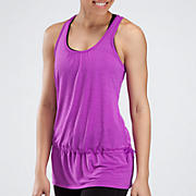 Layering Tank, Purple Cactus Flower