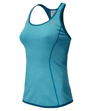 New Balance Achieve Reversible Tank, Sea Spray with Wave