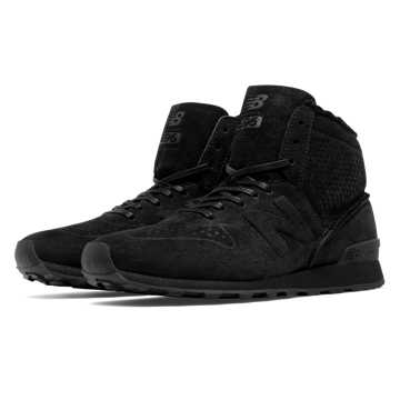 New Balance 696 Mid-Cut, Black