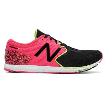 New Balance Hanzo S, Pink with Black