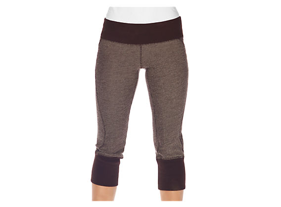 Samasara Crop Legging, Coffee Bean