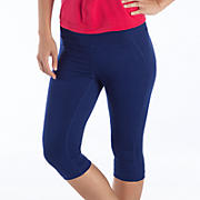 Spree Knee Capri, Blue Depths
