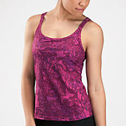 Zen Cami, Berry with Black