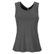 Mantra Shell Top, Black Heather