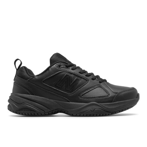 You work hard - so should your shoe. The Slip-Resistant 626 work shoe is designed with supreme cushioning support and traction for those on their feet all day.