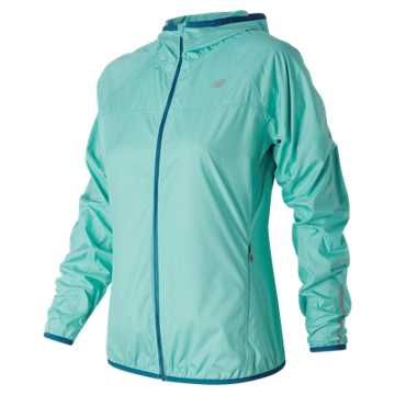 New Balance Windcheater Jacket, Aquarius