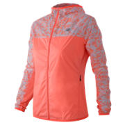 New Balance Windcheater Jacket, Cosmic Coral