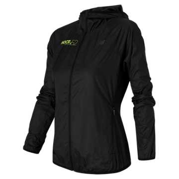 New Balance HOCR Windcheater Jacket, Black