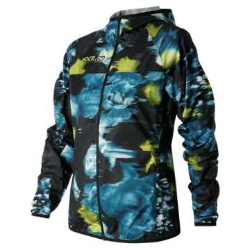 New Balance HOCR Windcheater Jacket, Galaxy with Firefly & Castaway