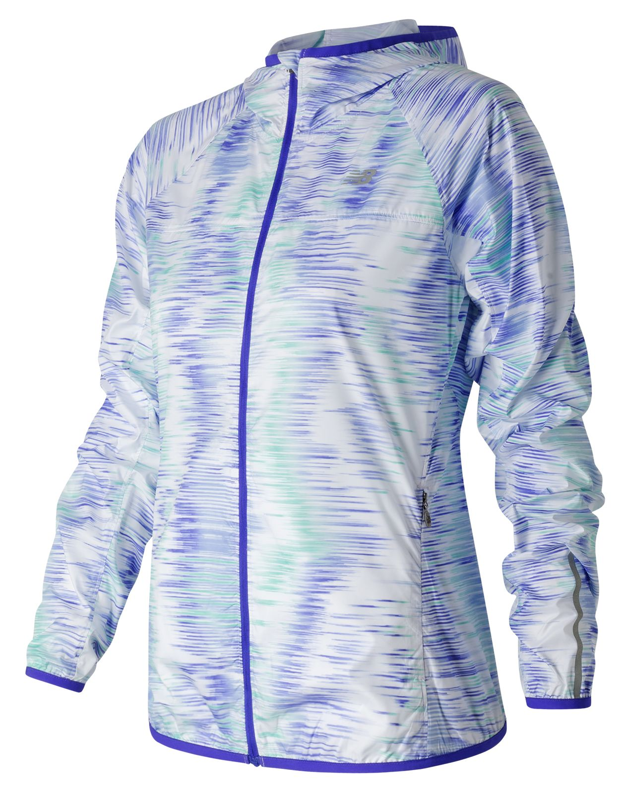 New Balance : Spectral Tech Windcheater Jacket : Women's Apparel : WJ53111SCP