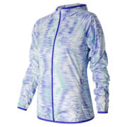New Balance Spectral Tech Windcheater Jacket, Spectral with White & Aquarius