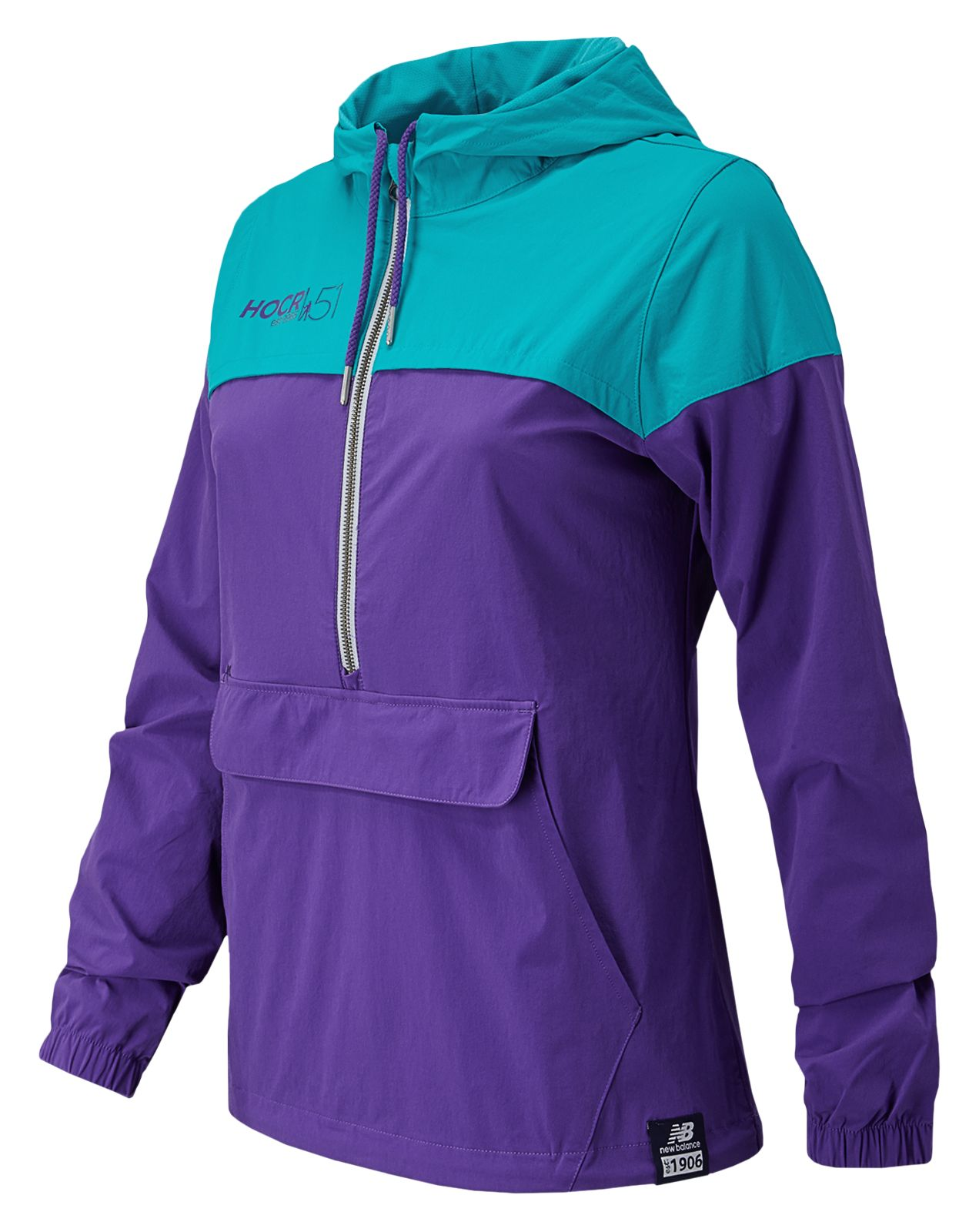 New Balance Hocr Essentials Plus 90s Windbreaker Womens Jackets  -  Wj