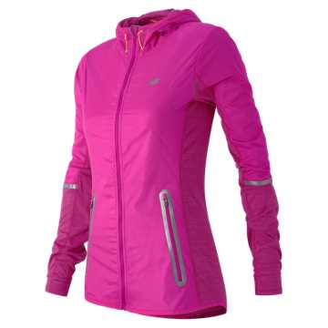 New Balance Performance Merino Hybrid Jacket, Azalea