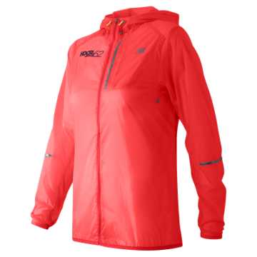 New Balance HOCR Lite Packable Jacket, Guava
