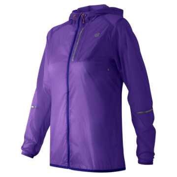 New Balance Lite Packable Jacket, Titan with Basin