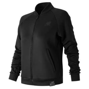 New Balance Push the Future Jacket, Black