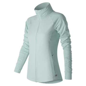 New Balance Mixed Media En Route Jacket, Droplet