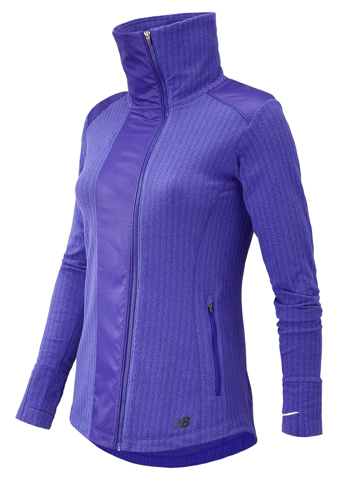 New Balance Novelty Heat Jacket Womens Purple