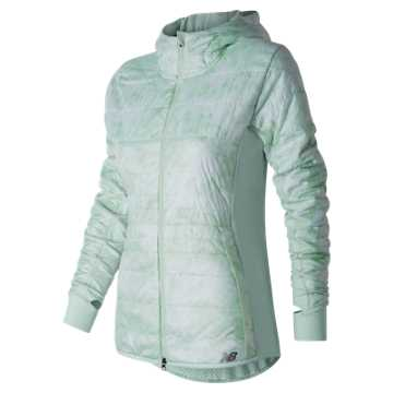 New Balance NB Heat Hybrid Jacket, Droplet Feather Print