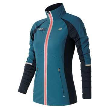 New Balance HOCR Precision Run Jacket, Castaway