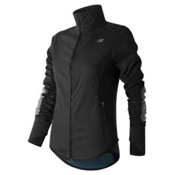 New Balance Windblocker Jacket, Black
