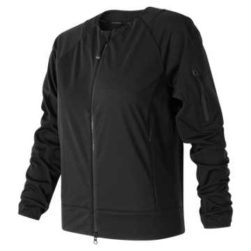 New Balance Womens Softshell Jacket, Black