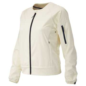 New Balance J.Crew Softshell Jacket, Mother of Pearl