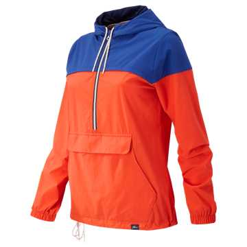 New Balance J.Crew 90s Windbreaker, Fireball