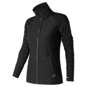 New Balance In Transit Jacket, Black