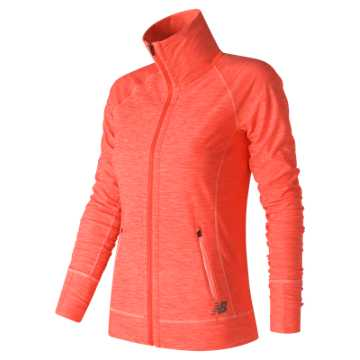 New Balance In Transit Jacket, Sunrise Heather