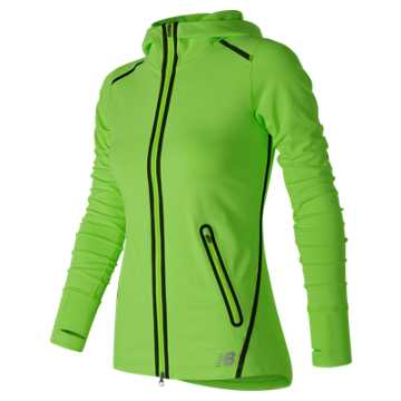 New Balance Trinamic Jacket, Lime Glo