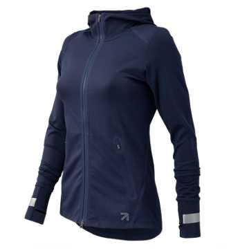 New Balance J.Crew Trinamic Full Zip Jacket, Navy