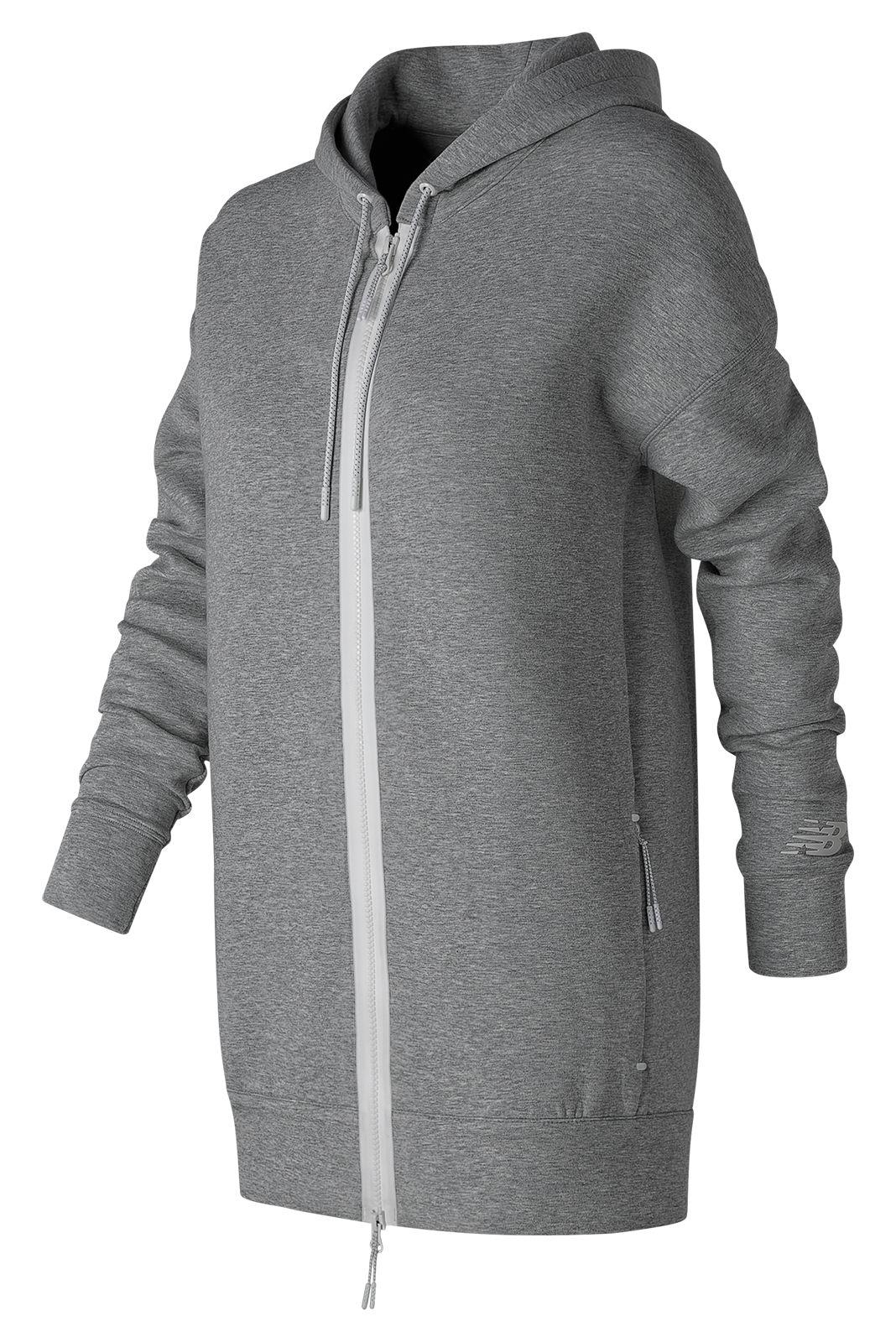 New Balance : Sport Style Fleece Hoodie : Women's Casual : WJ71561AG