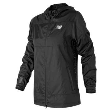 New Balance Trackster Woven Jacket, Black