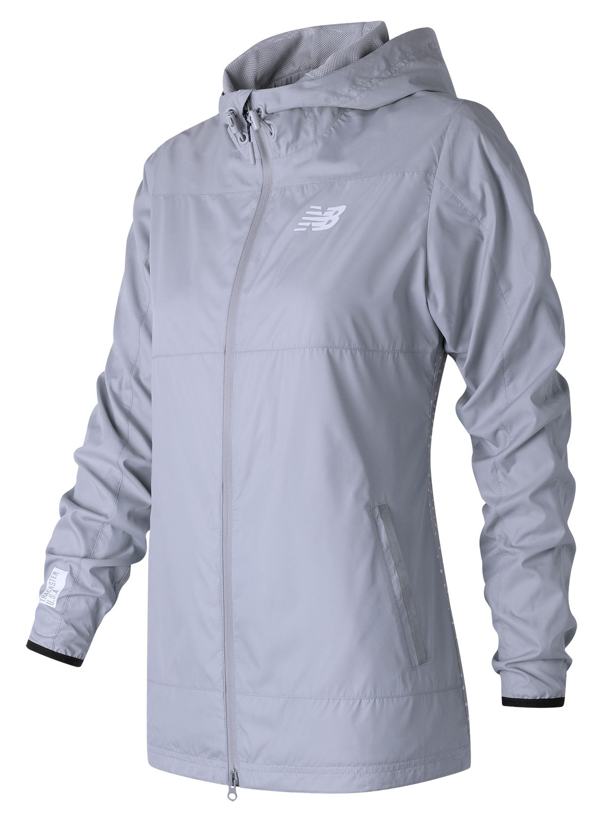New Balance : Trackster Woven Jacket : Women's Casual : WJ71620SVM
