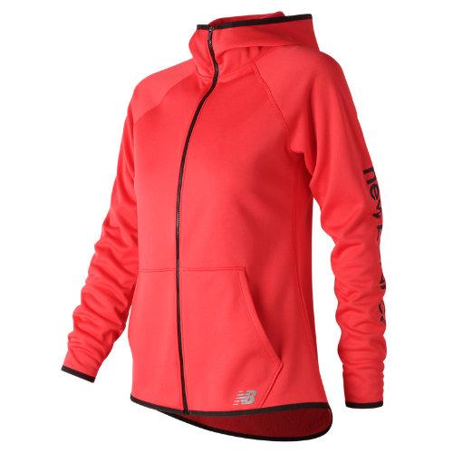 New Balance NB CoreFleece Full Zip Girl's All Clothing - WJ73157ENR