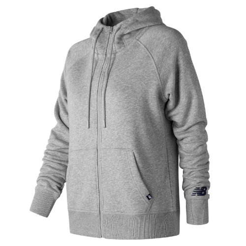 New Balance : Essentials Full Zip Hoodie : Women's Casual : WJ73520AG