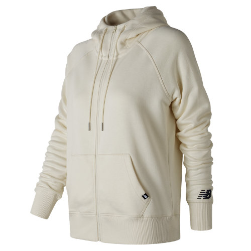 New Balance : Essentials Full Zip Hoodie : Women's Casual : WJ73520AGA
