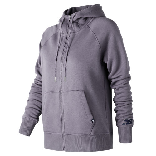 New Balance : Essentials Full Zip Hoodie : Women's Casual : WJ73520SRA