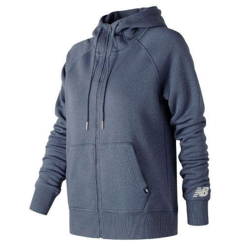 New Balance : Essentials Full Zip Hoodie : Women's Casual : WJ73520VTI